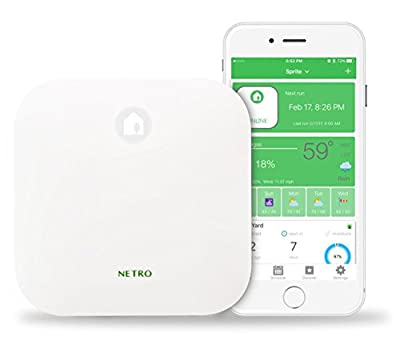 Netro Smart Sprinkler Controller, WiFi, Weather aware, Remote access