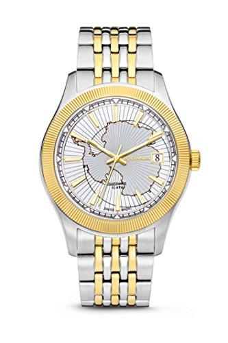 Rodania-Antarctic Reloj de hombre, bicolor