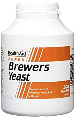 HealthAid Brewers Yeast - 500 Tablets