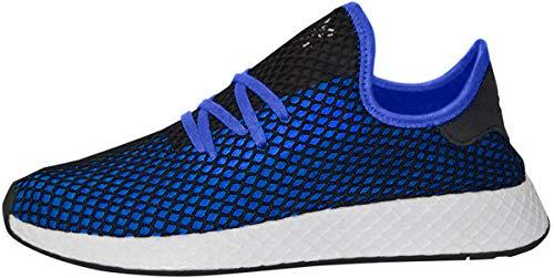 adidas Originals Deerupt Runner Shoe Mens Casual 11 Hi Res Blue-Black