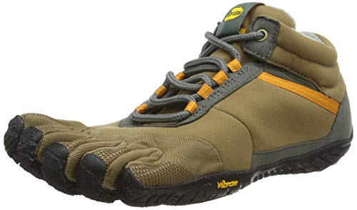 Vibram FiveFingers 15M5301 TREK Ascent Insulated, Outdoor Fitnessschuhe Herren, Mehrfarbig (Khaki/Orange), 43 EU