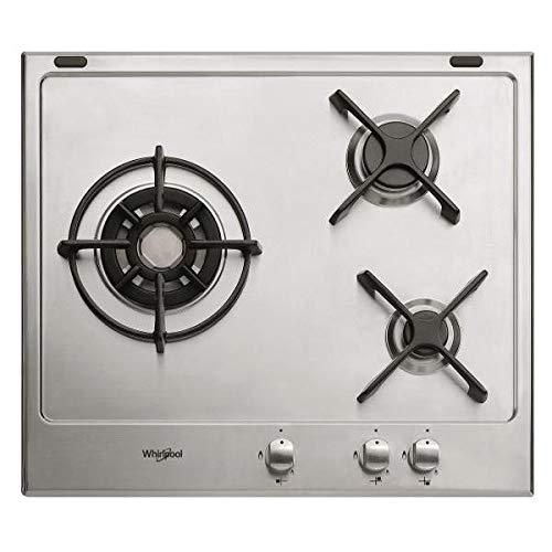 WHIRLPOOL Table de cuisson au gaz GM6342IX