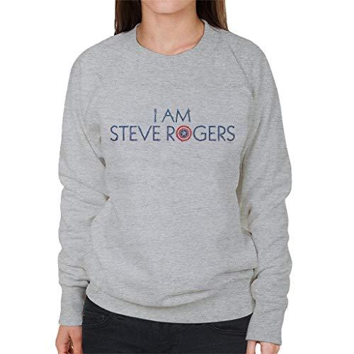Marvel Avengers Infinity War I Am Steve Rogers Women's Sweatshirt