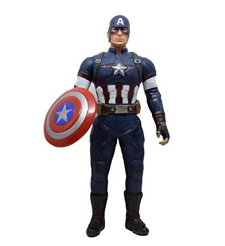 YXCC Figura de acción de Hulk Figura móvil de 42 cm de articulación Hulk Hombre de Hierro Viuda Negra Capitan America Figuras móviles Thor