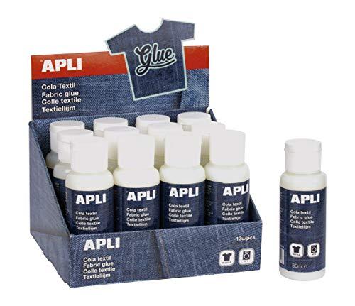 APLI 16751-Cola especial textil 80 ml