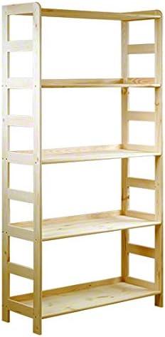 Estantería de madera de pino maciza, estantería modular R-10, 8 variantes (166 x 83 x 33 cm)