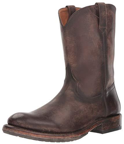 Frye Men's Duke Roper Fashion Boot, Redwood, 9.5