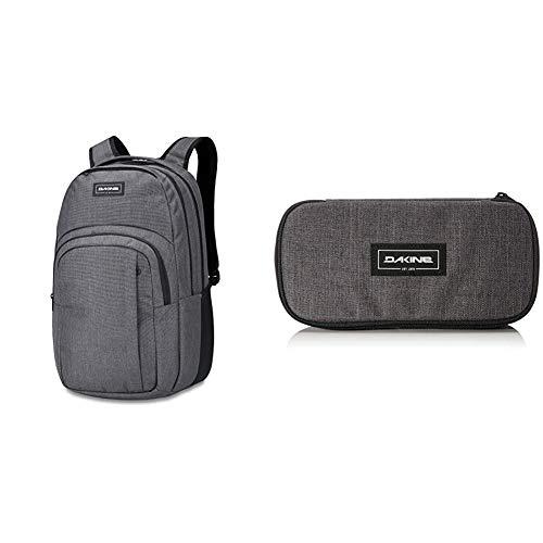 Dakine Campus Rucksack, Daypack Tagesrucksack für Schule, Arbeit und Uni, Sportrucksack und Schultasche mit Laptopfach und Rückenpolster, 33L & Federmäppchen School Case XL, Unisex Erwachsene
