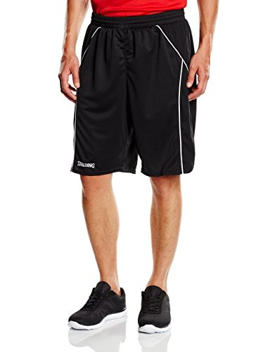 Spalding Hose Crossover Shorts, Schwarz/Weiß, XXS