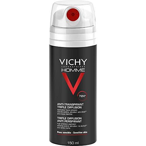Desodorante Vichy Homme antitranspirante 72 H en spray, 150 ml