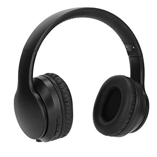 Heayzoki Cuffie Bluetooth Over-Ear, Cuffie Bluetooth 5.0 con cancellazione Attiva del Rumore, Cuffie telescopiche da Gioco Cuffie con riduzione del Rumore Auricolari per Smartphone e Tablet(Nero)