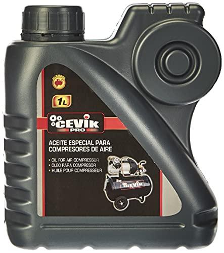 Cevik CA-ACEITE1LT Bote Aceite para Compresor, 1 l