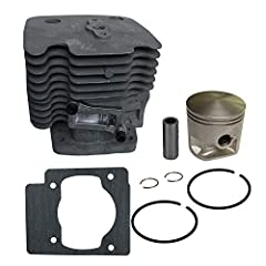 Fit:Redmax EBZ8500 EBZ8500RH Backpack Blowers Diameter: 51mm Package Include:1*Cylinder 1*Piston 1*Pin 2*Ring 2*Clips 1*Gasket This is non-original aftermarket parts, please check the pictures before buy it