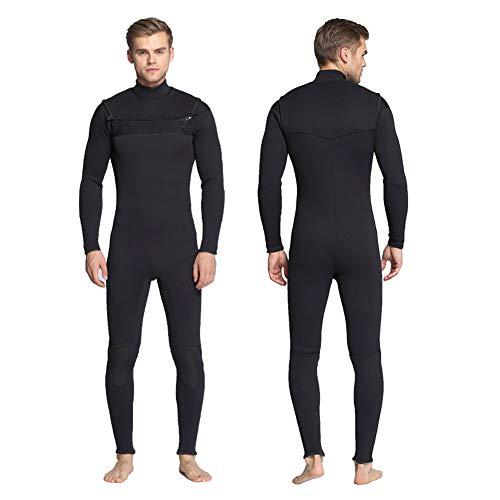 QWERDF Traje De Surf Traje Completo De 3 Mm Shorty Hombres De Las Mujeres 3/4 Mm, 4/5 Mm De Neopreno Buceo con Traje De Buceo Natación del Mono,A,LS