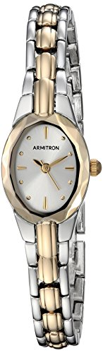 Armitron Women's 75/3313SVTT Two-Tone Dress Watch