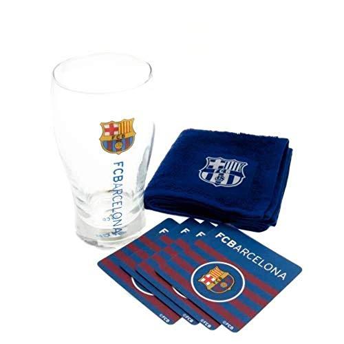 Barcelona FC Football Club Mini Bar Set Official Football Merchandise