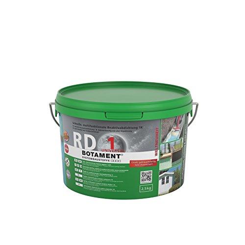 Botament RD 1 Universal schnelle, Multifunktionale Reaktivabdichtung 2.5kg