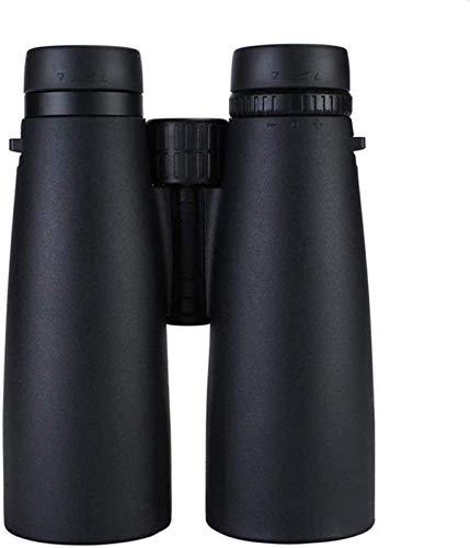 XXH Prismáticos 12x50 HD prismáticos de tubo grande montado ligero impermeable prismáticos luz baja visión nocturna