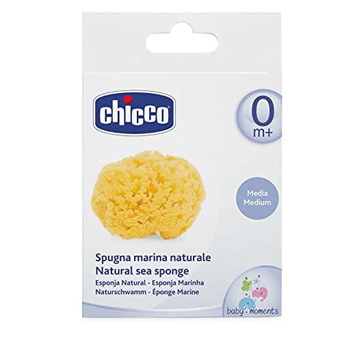 Chicco Spugna Marina, 100% Naturale, 0+ Mesi