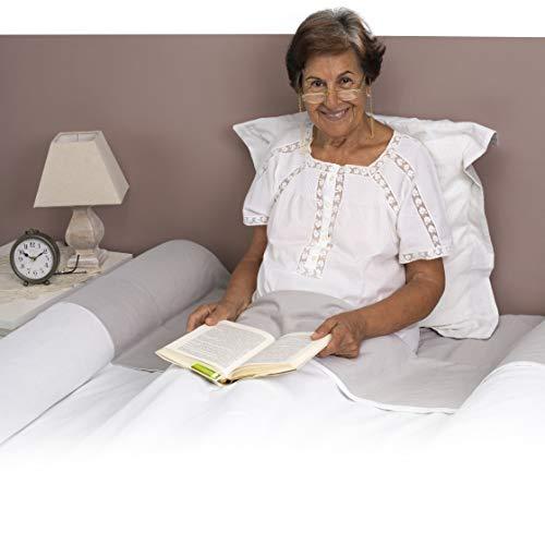BANBALOO- Barrera de Seguridad Anticaídas para cama de adulto o anciano/Barandilla de Espuma Antideslizante Transportable,para camas de matrimonio, abatibles y articuladas.