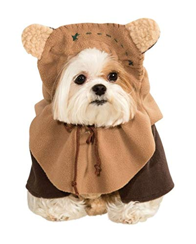 Horror-Shop Star Wars Ewok Hunde-Kostüm S