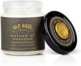Mother of Dragons - Dragons Blood and Cinnamon Candle Bookish Book Lover Fantasy Literature Gift 4oz