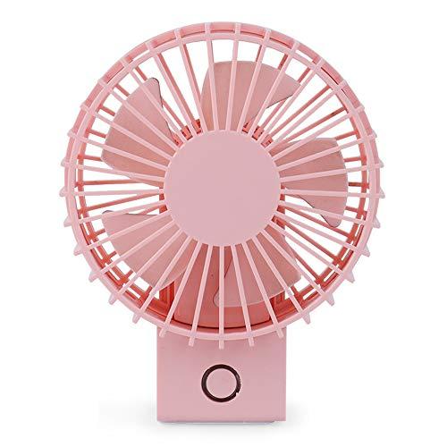 LHY NEWS Tragbare Mini-USB-Luftkühler, Desktop-Klimaanlage Ventilator für Home Office-Reisen im Freien,Rosa