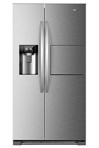 Réfrigérateur américain Haier HRF-630AM7 - inox - 555 litres Side by Side/A++/179 cm Hauteur/ Froid ventilé /375 L Partie frigo /180 l Congélateur / Distributeur d'eau, glaçons, glace pilée