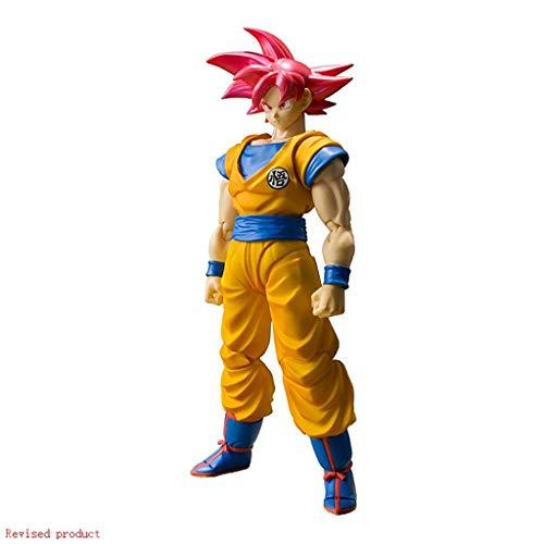 Yang baby Figuarts Super Saiyan Goku Hijo de Dios Dragon Ball Super Figura de acción - Acerca de Alta 5.9inches