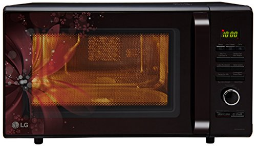 LG 28 L Convection Microwave Oven (MC2886BRUM, Black, With Starter Kit)