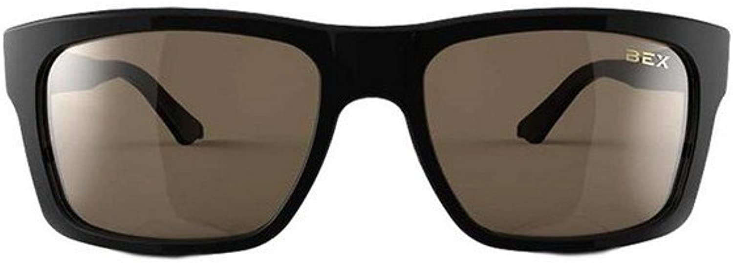 Bex Sunglasses Nylon Polarized Braddish Black Brown BBZB2