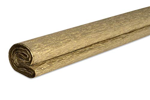 VBS Krepppapier 200cm 32g/qm verschiedene Farben Gold