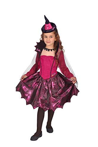 Ciao-Costume Barbie strega fashion, 5-7 anni Bambini, Rosa, 11669.5-7