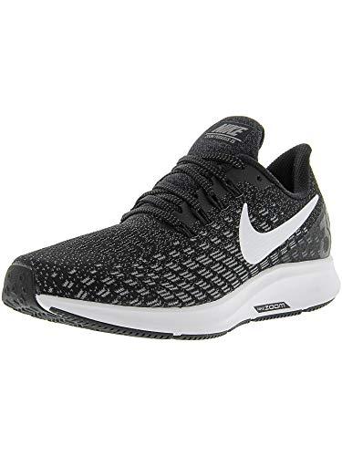 Nike Wmns Air Zoom Pegasus 35, Zapatillas de Running Unisex Adulto, Negro (Black/White-Gunsmoke-Oil Grey 001), 37.5 EU