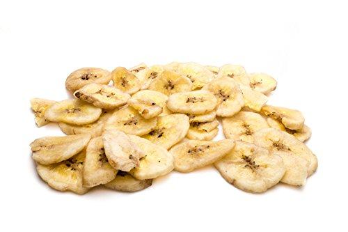 Chips de Plátano Deshidratado | 1 Kg de Banana Chips | Crudos y secos | IDEAL como SNACK | Rodajas Naturalmente dulces | Dorimed