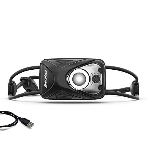 Energizer LED Rechargeable Headlamp, Perfect Head Light for Running, Outdoors, Camping - Bright and Durable Headlamp