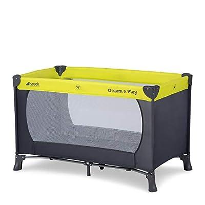 Hauck Dream N Play - Cuna de viaje para bebes a partir de 0 meses hasta 15 kg, incluido bolso de transporte, plegado y montaje fácil, lavable a mano, 127.5 x 69 x 76 cm, diseño Disney