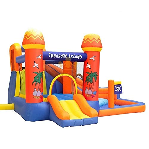 Royal Star TY Residencial Pirate Bay casa de la Despedida Inflable Castillo Inflable de Diapositivas Jumper Bola de Piscina for niños con soplador