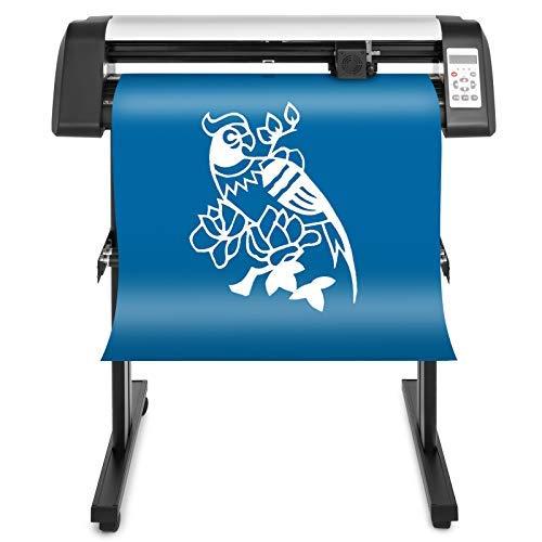 VEVOR Máquina Cortadora de Vinilo de 720 mm, Plotter de Corte de Vinilo con Control Digital, Vinilo Cortador Letrero, Corte Plotter Impresora Sublimación, Plotter de Impresión