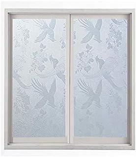 ماء PVC متجمد الزجاج نافذة الخصوصية فيلم ملصق غرفة نوم الحمام ذاتية اللصق فيلم ديكور المنزل فيلم مايتر