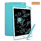 Richgv® Tablette d'écriture LCD 8.5 Pouces avec Stylo, Tablette Dessin Portable Numérique Ewriter et Le Dessin sans Papier, Jeu pour Enfant(Bleu)