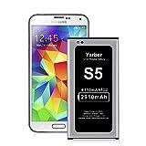 Akku für Samsung Galaxy S5, 2910 mAh Lithium-Ionen-Akku Ersatz für Samsung S5