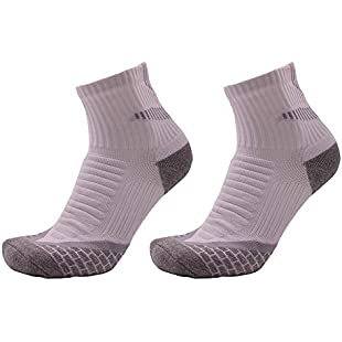 Starter Basketball Socks- Towel Bottom Men's Sports Socks Terry Socks Hiking Socks Sweat-Absorbent Breathable Socks