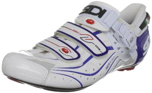 Sidi 74900 - Zapatillas de ciclismo de nailon para hombre, color blanco, talla 39.5