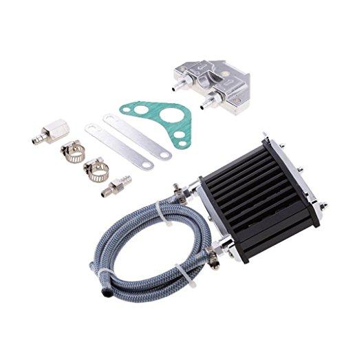 Motor universal del refrigerador de aceite de refrigeración del radiador de 125cc 150cc 140 Rastro de la suciedad motocicleta de la bici