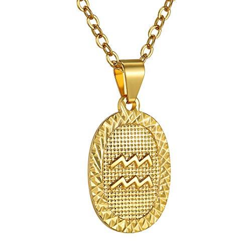 Medalla dorada de Acuario