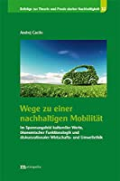 Wege zu einer nachhaltigen Mobilitaet: Im Spannungsfeld kultureller Werte, oekonomischer Funktionslogik und diskursrationaler Wirtschafts- und Umweltethik