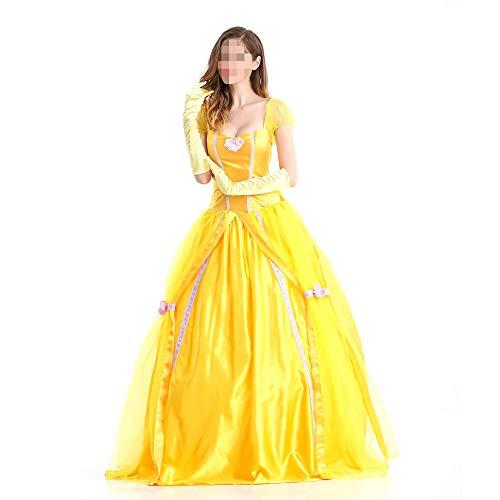 Halloween volwassen Fancy jurk kostuums, kostuums Halloween kinderen Cosplay Halloween partij, halloween volwassen kostuum Bell prinses jurk prinses kostuum Belle prinses kostuum