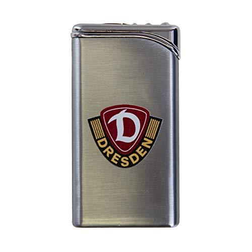 SG Dynamo Dresden metalen aansteker Tempo Piëzo logo zilverkleurig SGD - Plus bladwijzer Wij houden van voetbal