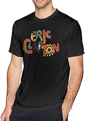 Neoreser T-Shirt à la Mode pour Hommes Eric Clapton Blouse All-Match de Style Haut de Gamme